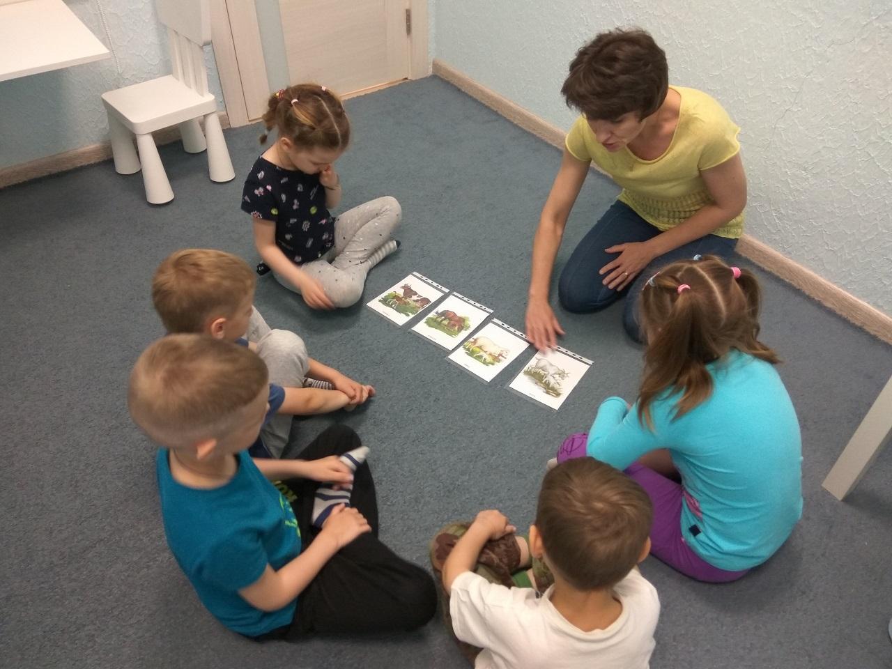 Интенсив по развитию детей и подготовке к школе
